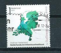 2011 Netherlands Architectuurinstituut Used/gebruikt/oblitere - Periode 1980-... (Beatrix)