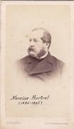 Photos Originales  Anciennes CDV   Photo Homme Narcisse Hurtrel Photo Alexandre Valtier Lille 1870  Ref 132 - Photos