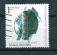 2011 Netherlands Windpost Maasvlakte Used/gebruikt/oblitere - Periode 1980-... (Beatrix)