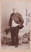 Photos Originales  Anciennes CDV   Photo Homme Narcisse Hurtrel 1890  Ref 134 - Photos