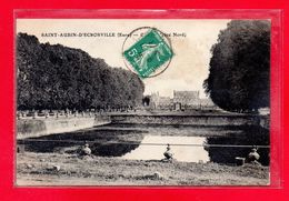 27-CPA SAINT-AUBIN D'ECROSVILLE - LE CHATEAU - (N°2107) - Saint-Aubin-d'Ecrosville