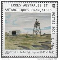 TAAF 2002 Yvert 329 Neuf ** Cote (2015) 2.00 Euro Le Téléphèrique - Terres Australes Et Antarctiques Françaises (TAAF)