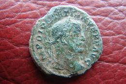 Diocletien Follis Revers Le Génie - 6. La Tétrarchie (284 à 307)
