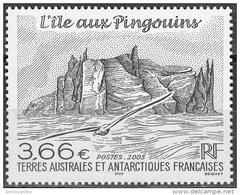 TAAF 2003 Yvert 362 Neuf ** Cote (2015) 14.20 Euro L'île Aux Pingouins - Terres Australes Et Antarctiques Françaises (TAAF)