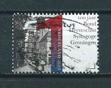 2011 Netherlands Synagoge Groningen Used/gebruikt/oblitere - Periode 1980-... (Beatrix)
