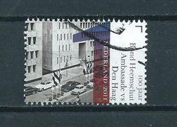 2011 Netherlands Ambassade VS Den Haag Used/gebruikt/oblitere - Periode 1980-... (Beatrix)