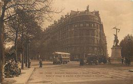 PARIS - Boulevard Saint Germain Et Raspail,statue De Chappe. - Arrondissement: 07