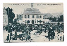 CPA 38 VILLARD DE LANS Un Jour De Foire - Villard-de-Lans
