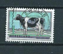 2012 Netherlands Animals,dieren,koe,cow,tiere Used/gebruikt/oblitere - Periode 1980-... (Beatrix)