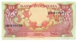 Indonesia 10 Rupiah 1959  AUNC .J. - Indonesia