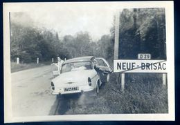 Photographie Du 68 Neuf Brisac Simca Aronde   SEP17-72 - Lieux