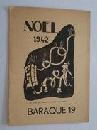 Prisonnier En Captivité - Programme De Noel 1942 - Oflag XVII A - Baraque 19 - Match De Boxe - Documents