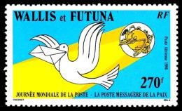 WALLIS ET FUTUNA 1986 - Yv. PA 153 ** TB  Faciale= 2,26 EUR - Journée Mondiale De La Poste  ..Réf.W&F21863 - Luftpost