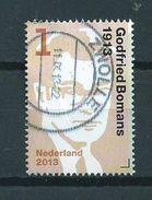 2013 Netherlands Godfried Bomans Used/gebruikt/oblitere - Periode 1980-... (Beatrix)