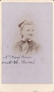 Photos Originales  Anciennes CDV   Photo Marcel Moreau Née Marie Therese Hurtrel 1880 Ref 141 - Photos