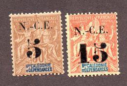 Nouvelle Calédonie N°65,66 N* TB Cote 30 Euros !!! - Neufs