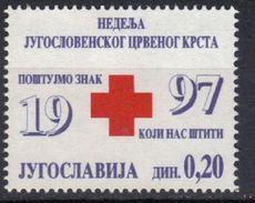 Yugoslavia,Red Cross 1997.,MNH - 1992-2003 République Fédérale De Yougoslavie