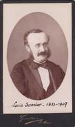 Photos Originales  Anciennes CDV  Photo Louis Sancier Epouse Hurtrel Photo Gustave Le Mans  1880 Ref 144 - Photos