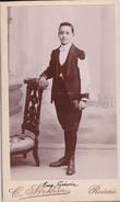 Photos Originales  Anciennes CDV  Photo Jean Guerin Photo Gerschel Reims  1890 Ref 145 - Photos