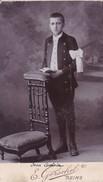 Photos Originales  Anciennes CDV  Photo Eugene Guerin Photo Hristian Strohm Reims  1890 Ref 146 - Photos