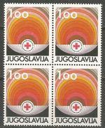 Yugoslavia,Red Cross 1981.,block Of Four,MNH - 1945-1992 Socialist Federal Republic Of Yugoslavia