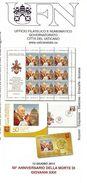 2013 Bollettino Poste Vaticane 50° Anniversario Della Morte Di Papa Giovanni XXIII - Päpste