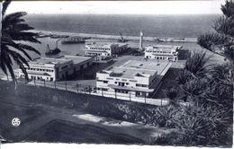 Oran - La Gare Maritime Vue De La Promenade Létang 1954 (002162) - Marokko