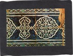 74271    Uzbekistan(Ex-USSR),    Tash-Khauli,  Mural,  Fragment,  NV - Uzbekistan