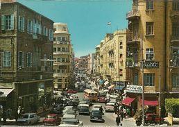 Beirut (Libano, Lebanon) Weigand Street, Rue Weygand, Weygand Strasse - Liban