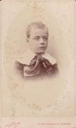 Photos Originales  Anciennes CDV  Photo Garçon Georges Lecarpentier  Photo Nadar Paris 1880  Ref 156 - Photos