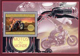 Guinée  -  Les Motos Du Monde  -  Etats-Unis  -   Harley  -  1v MS Neuf/Mint - Motos