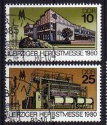 DDR 1980 Mi 2539-2540, Leipziger Messe, Gestempelt [091217StkKI] - DDR