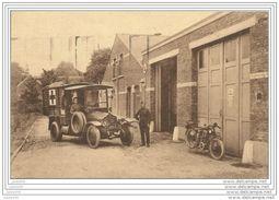 NAMUR ..-- MILITARIA ..-- CROIX ROUGE . Ambulance .1936 Vers CHAPELLE LEZ HERLAIMONT ( Mr Mme POURBAIRE ) . Voir Verso . - Namur