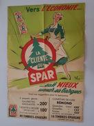 Affiche Ancienne Magasin Spar Illustrée Par Pol - La Ménagère - Pub Confiture Rémond - Affiches