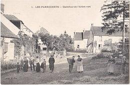 77. Les Parrichets-de-MOUROUX. Carrefour De L'Arbre Vert. 1 - Autres Communes