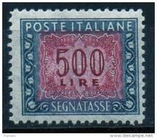 PIA - ITA - Specializzazione : 1964 :  Segnatasse  £ 500 - (SAS 120/I  - CAR 47/I ) - 6. 1946-.. Repubblica