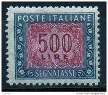 PIA - ITA - Specializzazione : 1964 :  Segnatasse  £ 500 - (SAS 120/I  - CAR 47/I ) - 6. 1946-.. República