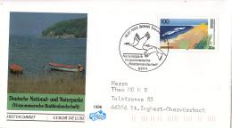 Duitsland - FDC 18-7-1996 - Deutsche National- Und Naturparks (I): Vorpommersche Boddenlandschaft - Michel 1871-1873 - FDC: Briefe