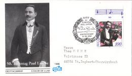 Duitsland - FDC 14-8-1996 - 50. Todestag Von Paul Lincke - Michel 1876 - FDC: Briefe