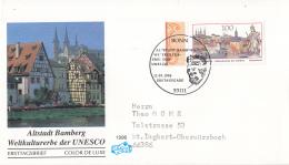Duitsland - FDC 12-9-1996 - UNESCO-Welterbe (III): Altstadt Bamberg - Michel 1881 - UNESCO