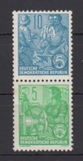 DDR / Freimarken: Fünfjahresplan  /  MiNr.: 577B, 578B - Unused Stamps