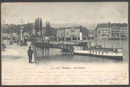 Genève - Les Quais - J.J. N°1295 - Voir 2 Scans - GE Geneva
