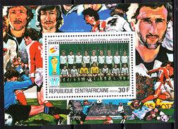 Rep. Central African   -   1981.  Austria Team. BF MNH Rare - Coppa Del Mondo
