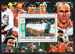 Rep. Central African   -   1981.  Polonia Team. Polen Team. BF MNH Rare - Coppa Del Mondo