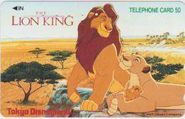 JAPAN - FREECARDS-0989 - 110-158501 - CARTOON - DISNEY - THE LION KING - Japan
