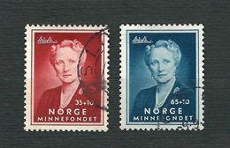 NORVEGIA 1956 - Principessa Marta - Mi:NO 404-05 - Usati