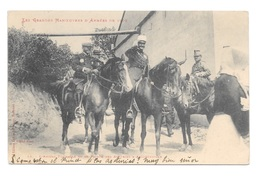 (18001-00) Les Grandes Manoeuvres D'armée De 1902 - L'Amiral Fournier Et Le Prince Des Asturies à Aygrefeuille - Manovre