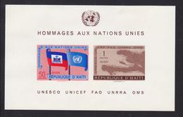 HAITI BLOC N°   10 ** MNH Neuf Sans Charnière, TB  (CLR011) - Haïti