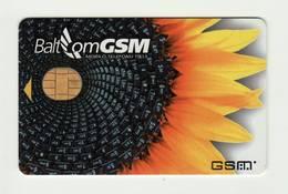 LATVIA Balcom GSM SIM MINT - Latvia