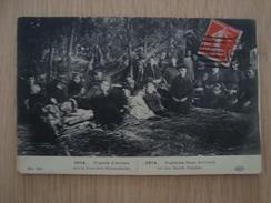 CPA GUERRE 1914 FUGITIFS D'ANVERS - Guerre 1914-18